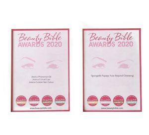 Beauty Bible Winner Awards 2020