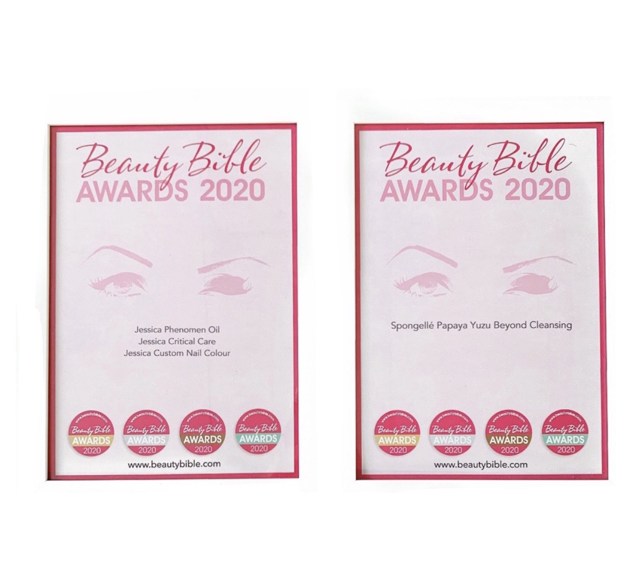 Beauty Bible Winner Awards 2020